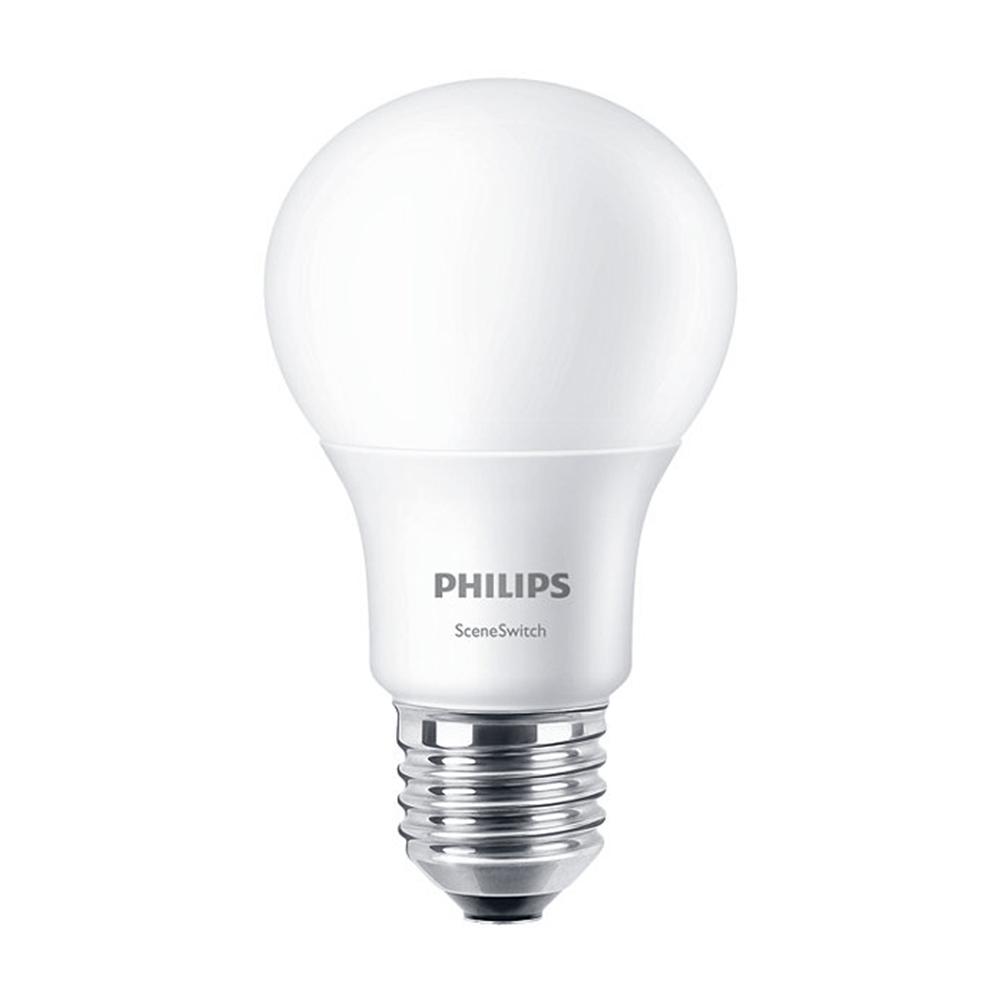 Bec LED, Philips, 40 W, E27, set 2 bucati mathaus 2021