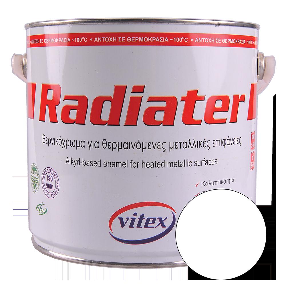 Email pentru suprafete incalzite Vitex Radiater, alb, interior, 2,5l