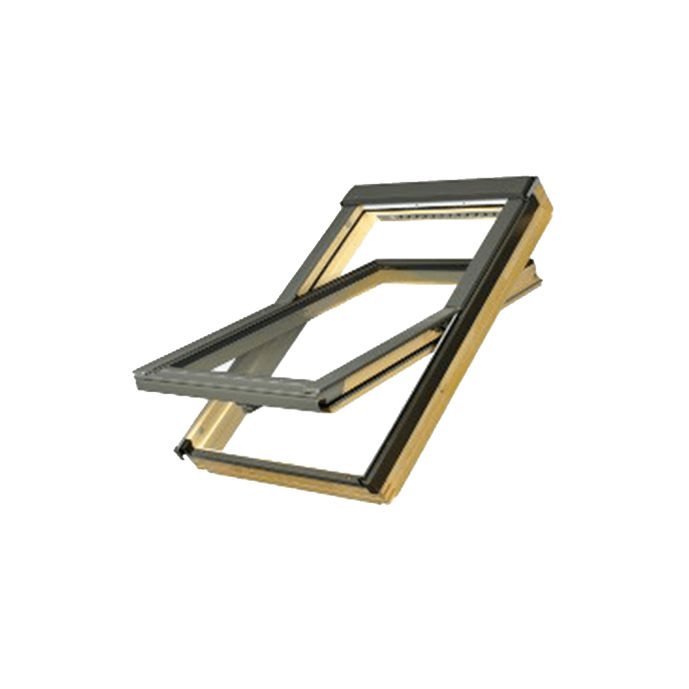 Fereastra pentru mansarda Fakro FTS-V U2, 66 x 118  cm, lemn de pin, montaj 15 - 90° mathaus 2021
