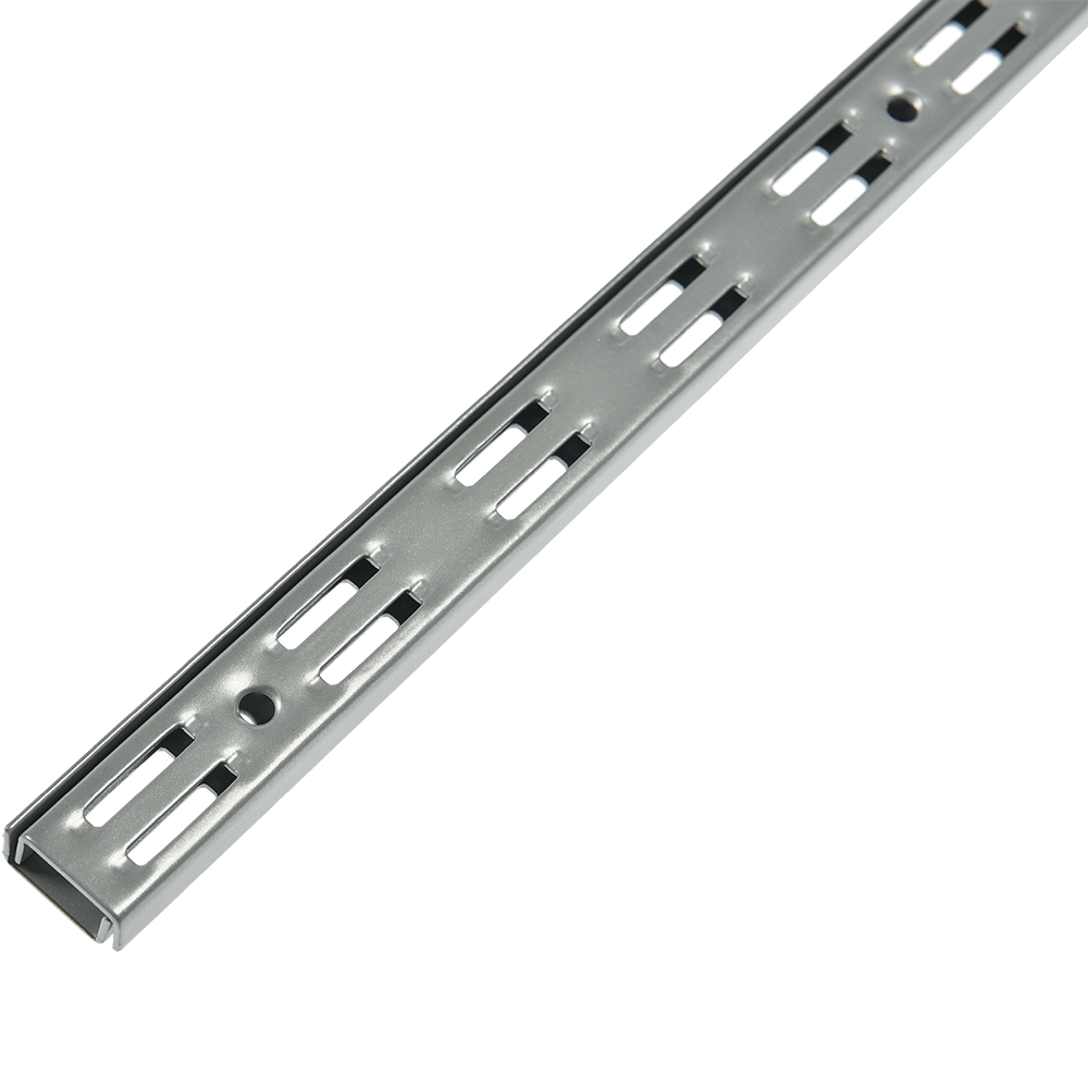 Vergea verticala, gri, H: 1000 mm imagine MatHaus.ro