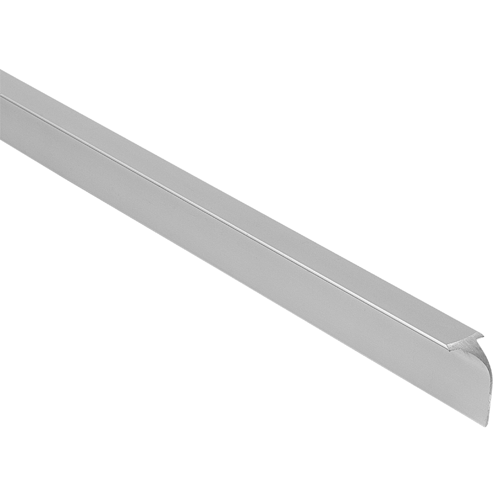 Imbinare de colt pentru blaturi de bucatarie, aluminiu mat, 600 mm imagine 2021 mathaus