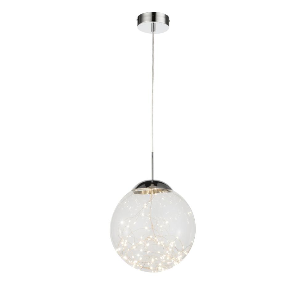 Suspensie Manam, 1 x LED, 12W, argintie, 1120 lm mathaus 2021