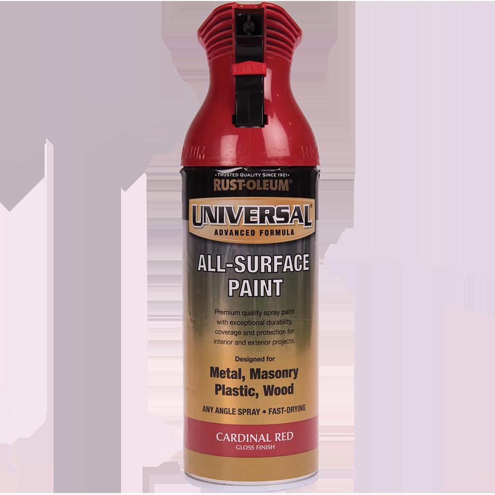 Spray Universal all-surface lucios cardinal red 400 ml
