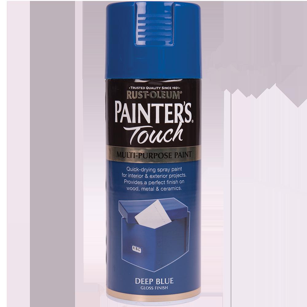 Spray Rust-Oleum Painter`s Touchs, lucios, albastru inchis, 400 ml imagine 2021 mathaus