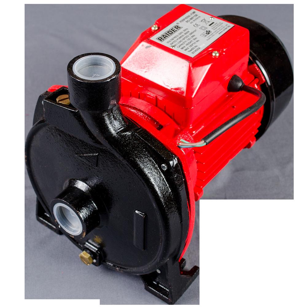 Pompa de suprafata Raider RD-WP158, motor electric, 750 W, 120 l/min debit imagine MatHaus.ro