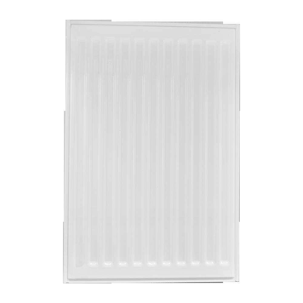 Calorifer otel Purmo C22, 600 x 400 mm, 2 panouri convectoare, alb, accesorii incluse imagine MatHaus.ro
