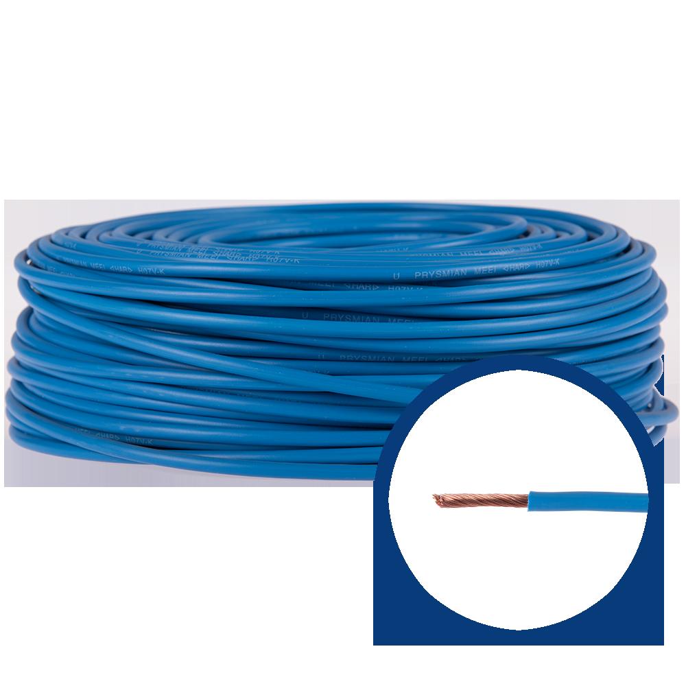 Cablu electric MYF (H05V-K) 6 mmp, izolatie PVC, albastru imagine 2021 mathaus