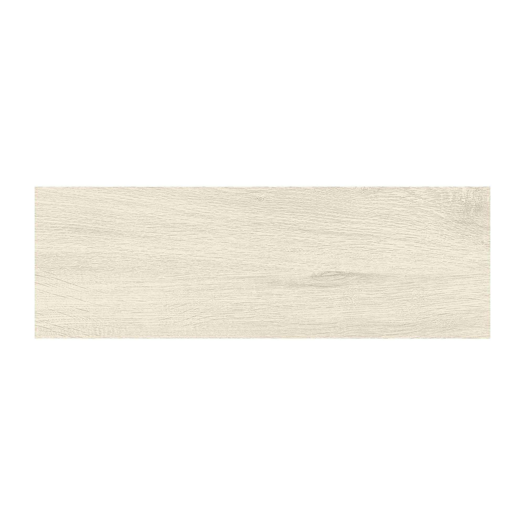 Gresie portelanata Cesarom Canada PEI 5 alb mat structurat, dreptunghiulara, 20 x 60 cm