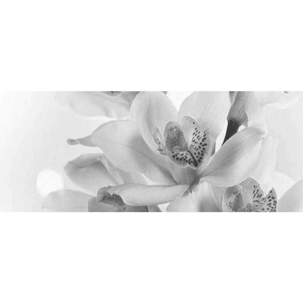 Faianta decorativa Keramin Elegy 7-tip 3, lucioasa, stil elegant, alb/negru, 20 x 50 cm