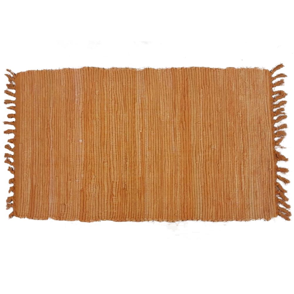 Covor tesut Mexican, portocaliu, 100% bumbac, 50 x 90 cm mathaus 2021