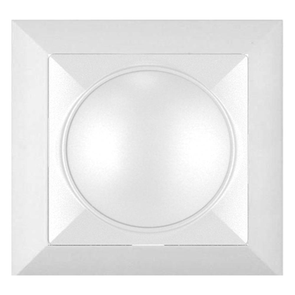 Variator de intensitate Perla, 400 W, alb, 81 x 81 mm