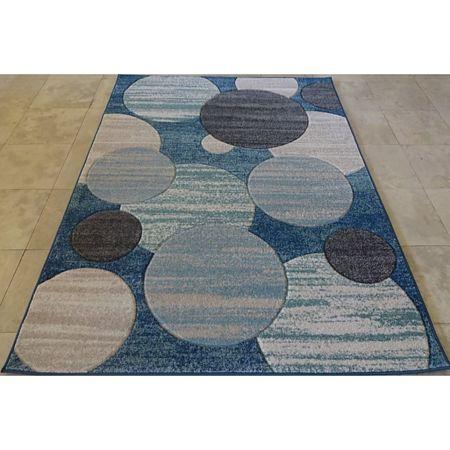 Covor modern Soho 8459, polipropilena, navy-albastru inchis, 200 x 290 cm