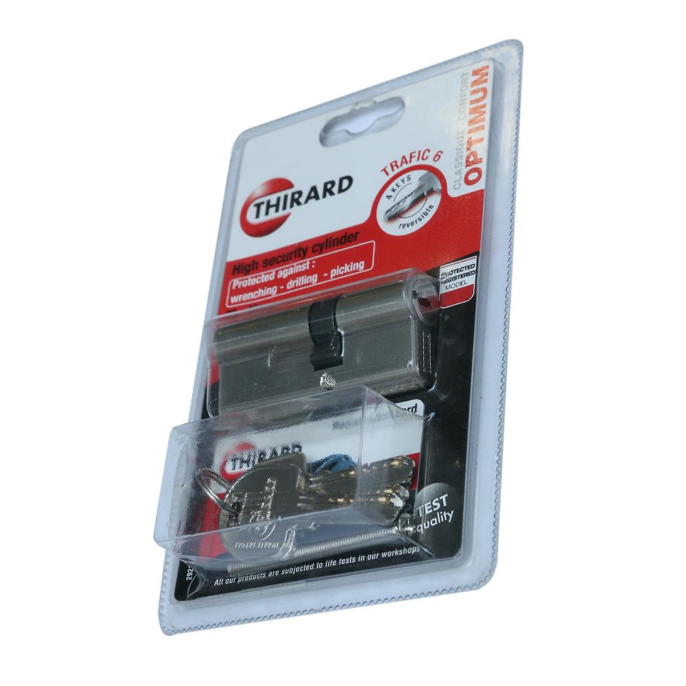 Cilindru de siguranta Trafic6, alama, 30 x 40 mm, 3 chei imagine 2021 mathaus