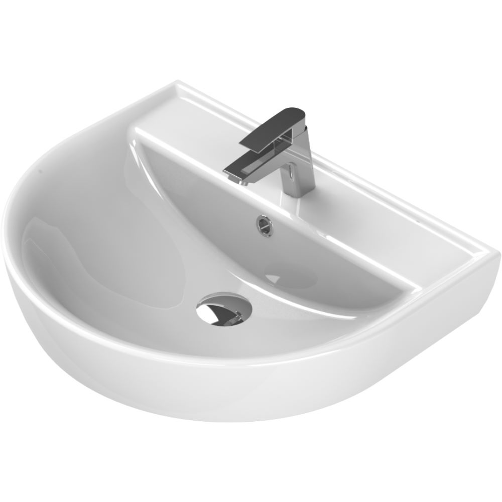 Lavoar Menuet Bella, 50 x 40 cm, forma ovala, ceramica sanitara mathaus 2021