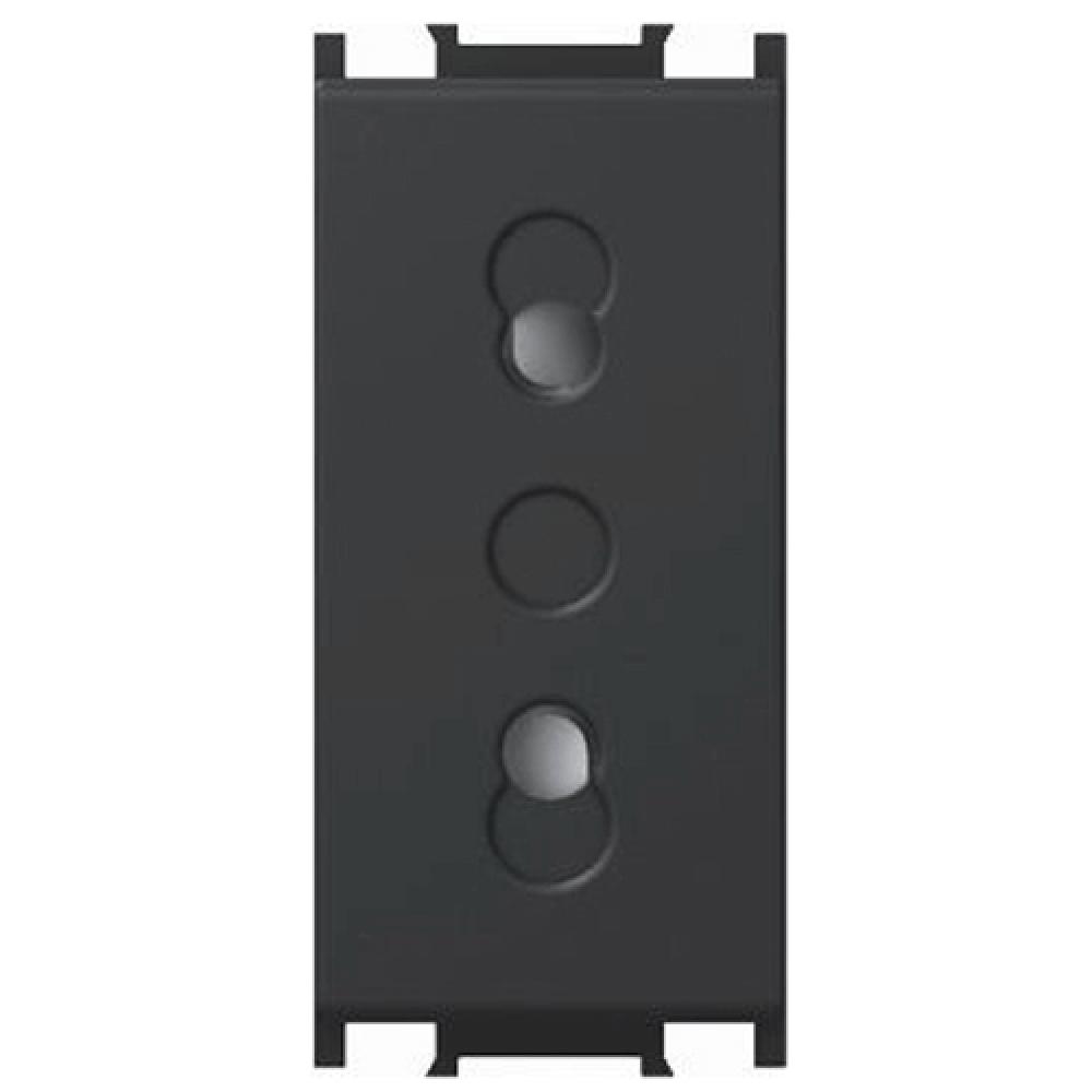 Priza simpla CP Modul, 1m negru imagine 2021 mathaus