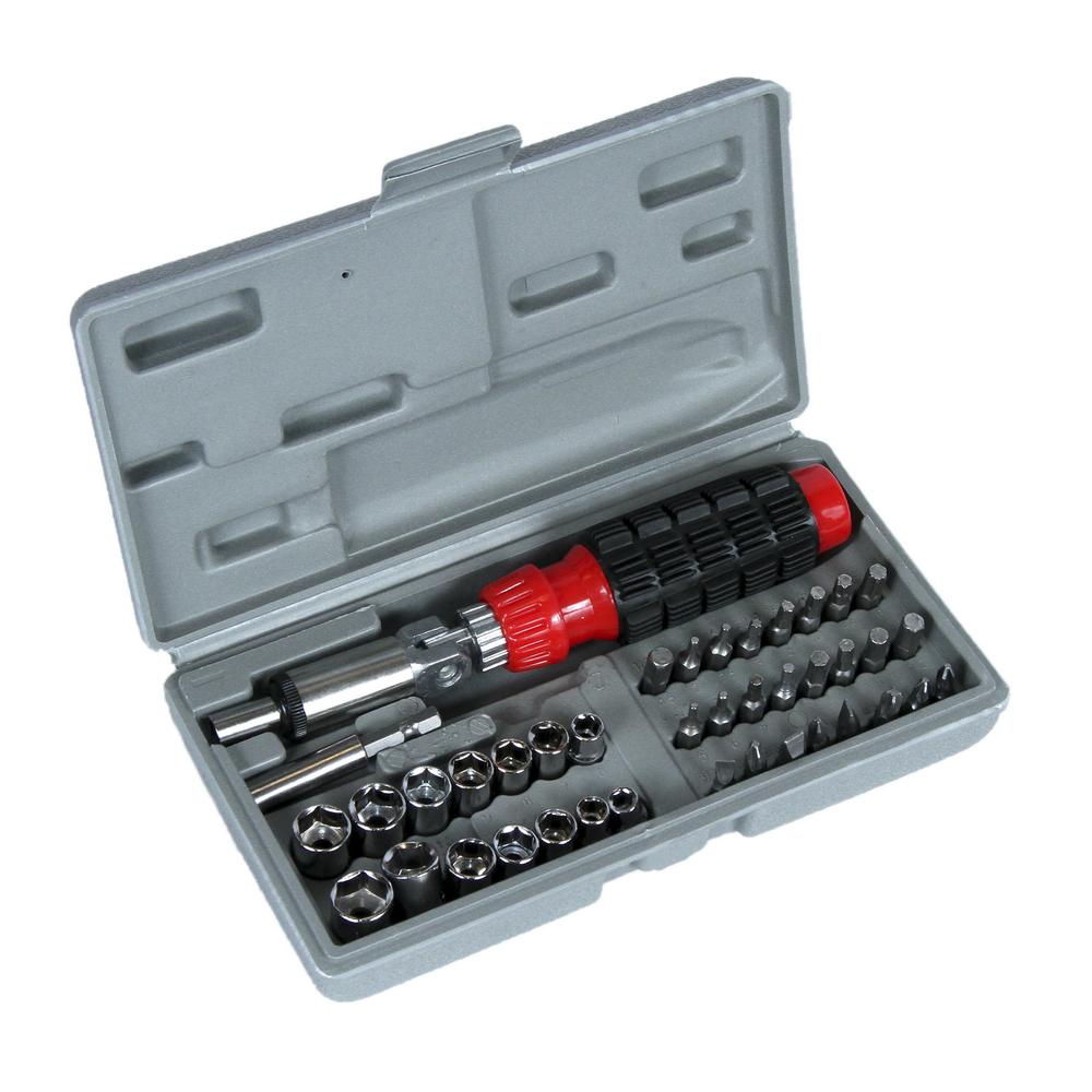 Trusa capete de surubelnita si tubulare Top Tools 39D386 41buc/set