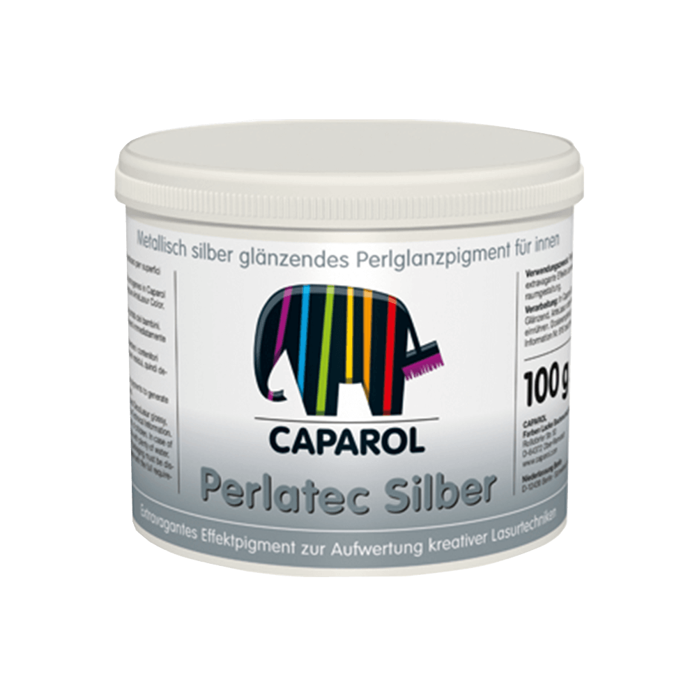 Pigment Capadecor Perlatec Silber, 100 gr imagine 2021 mathaus