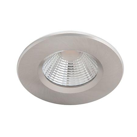 Spot LED Philips incastrat Dive SL261, nichel, 2700K, 350 lm, 5,5 W
