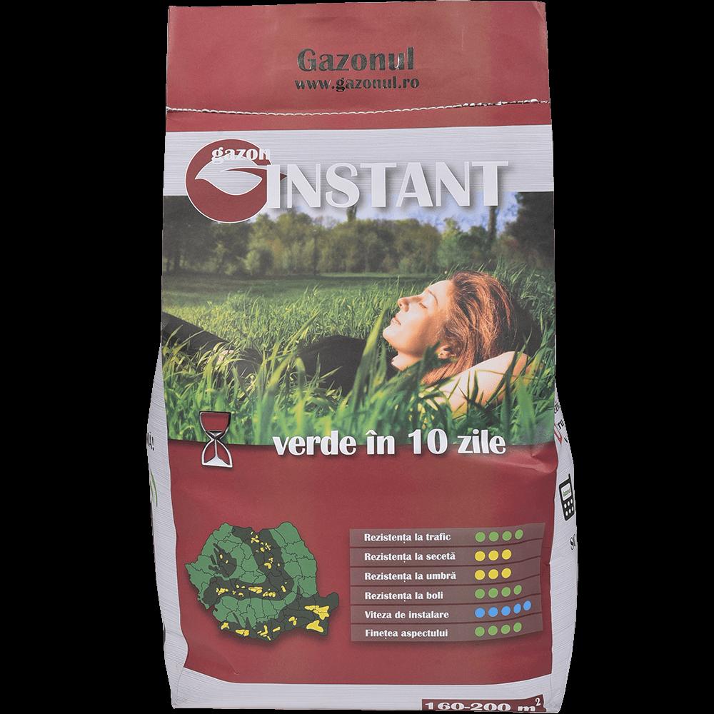 Seminte pentru gazon Instant, suprafata 160 mp, 4 kg