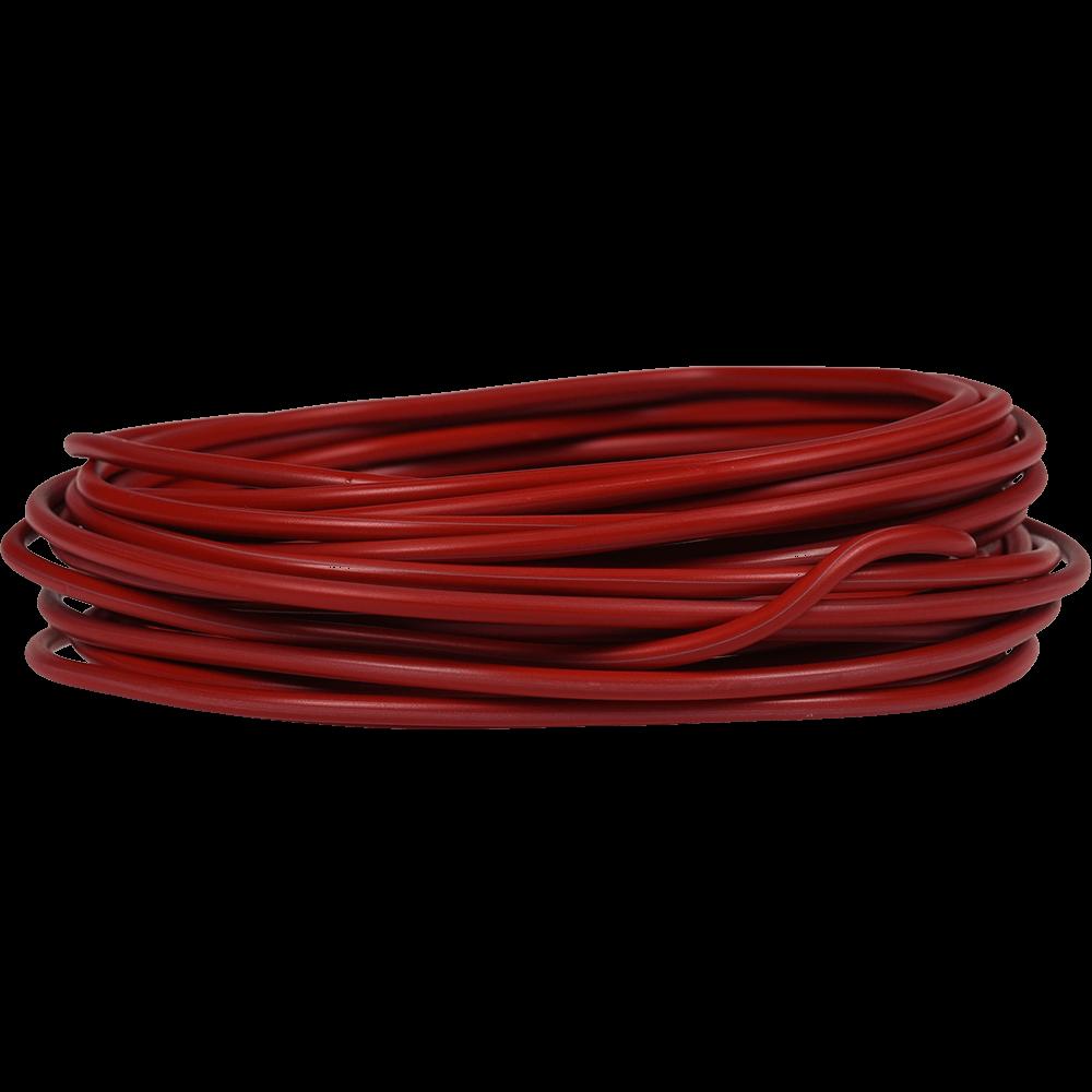 Rola conductor electric FY / H07V-U 1x6 mmp rosu 25 m