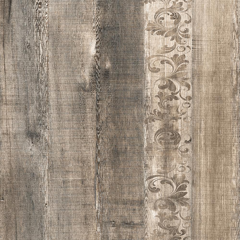 Gresie portelanata interior Kai Ceramics Atelier, gri, aspect de lemn, finisaj mat, 45 x 45 cm