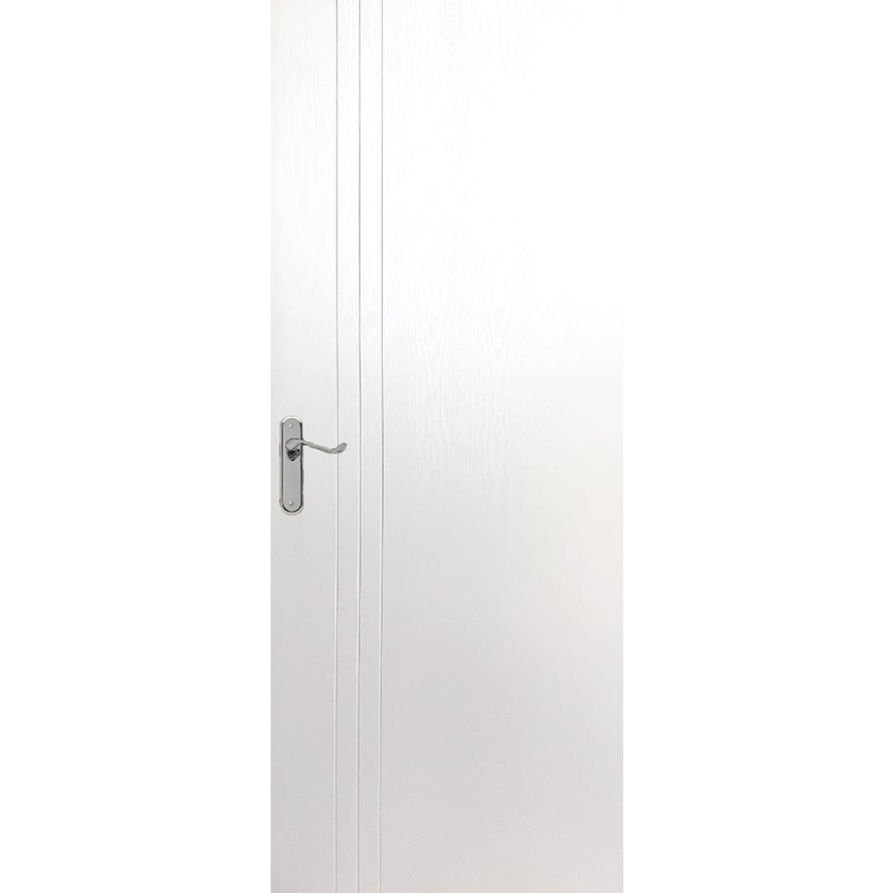 Usa plina interior, Pamate M050, alb, 203 x 70 x 3,5 cm + toc 10 cm, reversibila