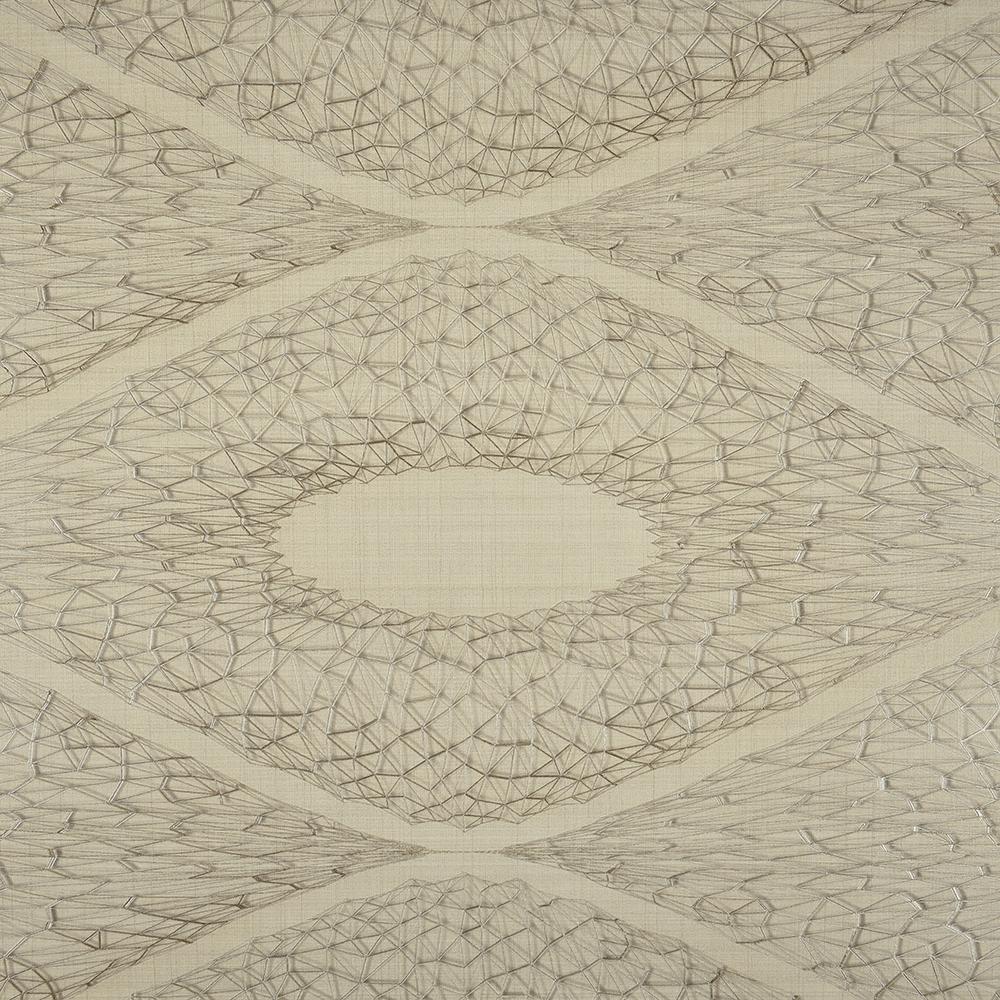 Tapet vinil Seela Modern Touch 6532-3, bej/argintiu, model geometric 3D, 10.05 x 0,53 m