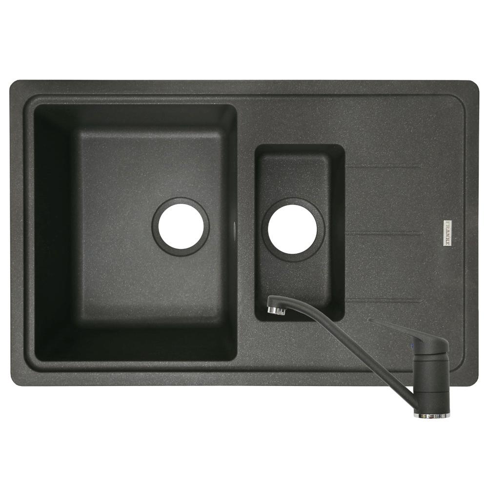 Pachet Franke BFG 651-78 chiuveta si baterie Grafite, negru, 780 x 500 mm imagine 2021 mathaus