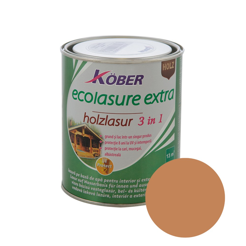Email Kober Ecolasure Extra 3 in 1, alun, 0,75 l