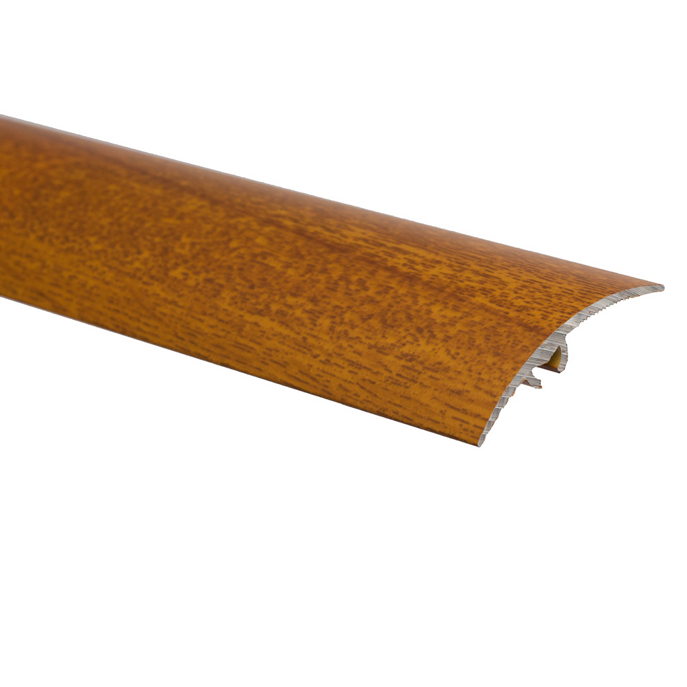 Profil de trecere cu surub mascat, cu diferenta de nivel S65, Effector, lemn exotic, 0,93 m imagine MatHaus