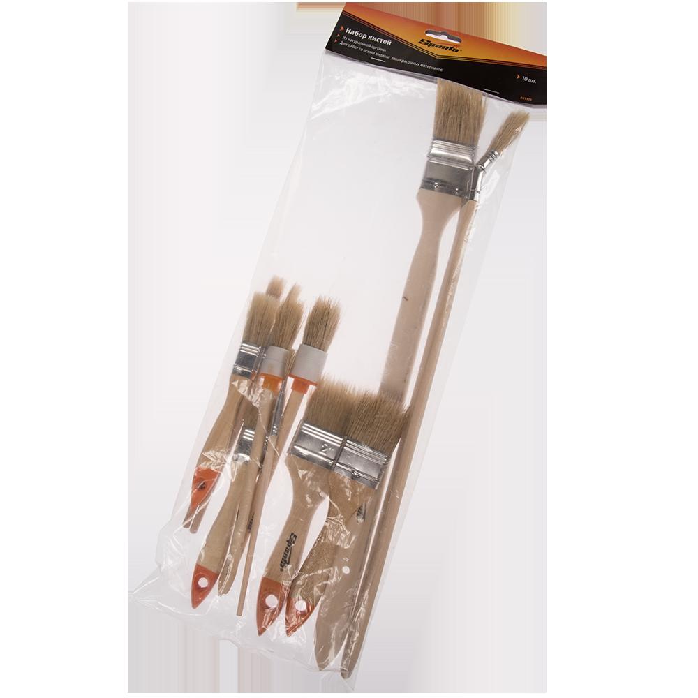 Set pensule Sparta, 10 buc