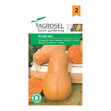 Seminte de dovleac de copt, Agrosel Orange