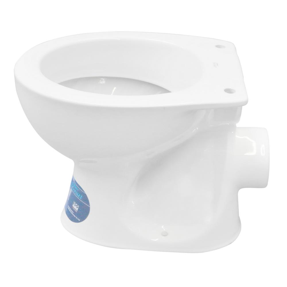 Vas WC pentru copii Menuet 5200-P, ceramica, evacuare laterala, alb imagine MatHaus.ro