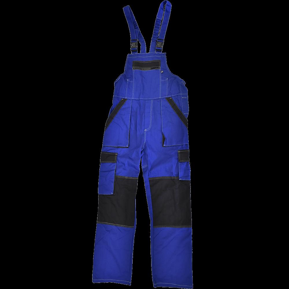 Salopeta pentru protectie Max Summer, bumbac, marimea 48, albastru / negru