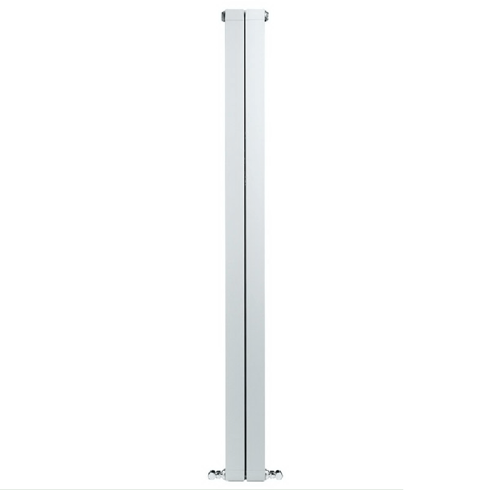 Calorifer aluminiu Faral Condor 1800, 80 x 1800 mm, 2 elementi, 542 W, alb mathaus 2021