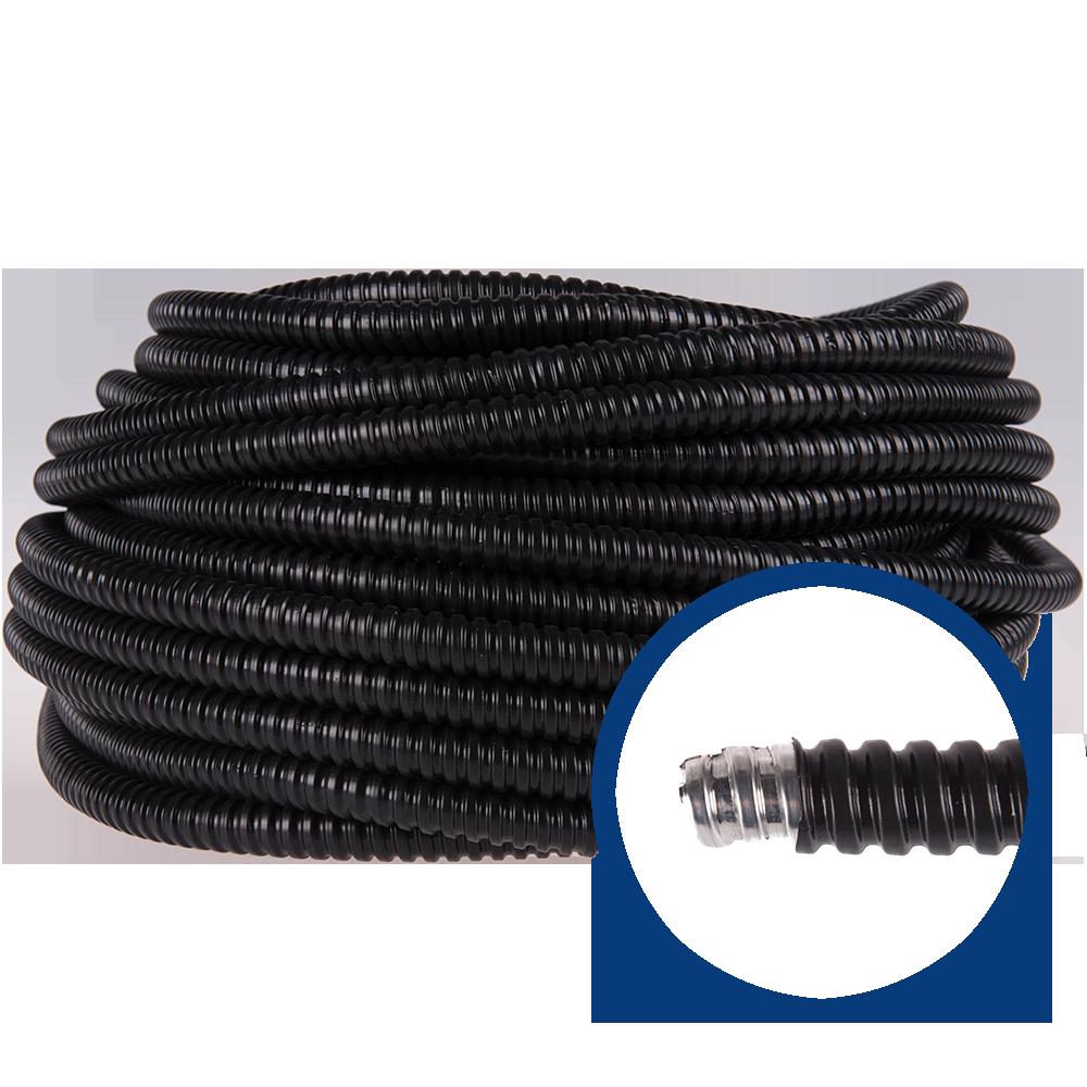 Copex metalic spiralat cu izolatie pentru exterior D18 mm mathaus 2021