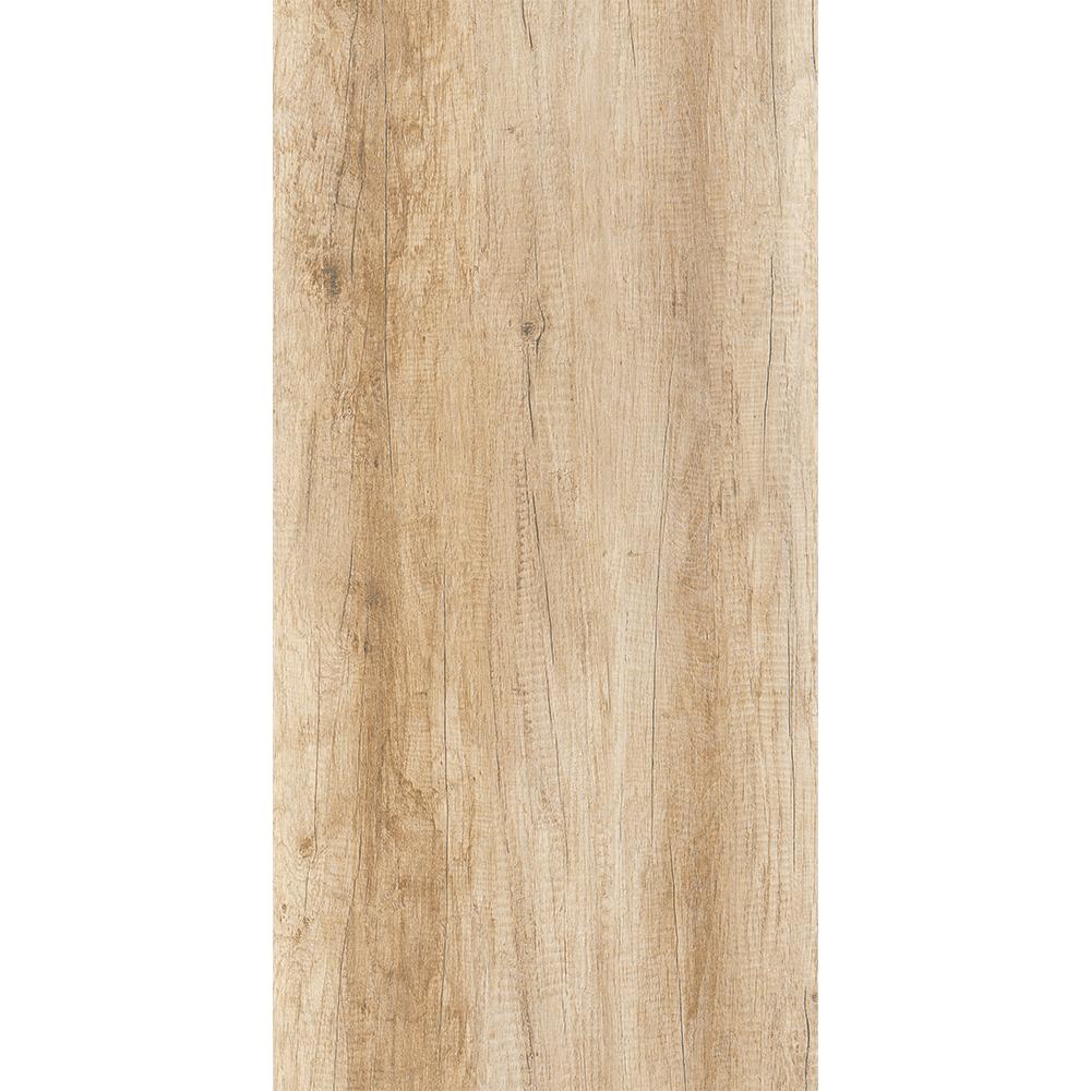 Gresie tip parchet portelanata interior/exterior  Kai Ceramics Piraeus, bej, aspect lemn, finisaj vintage, 30 x 60 cm
