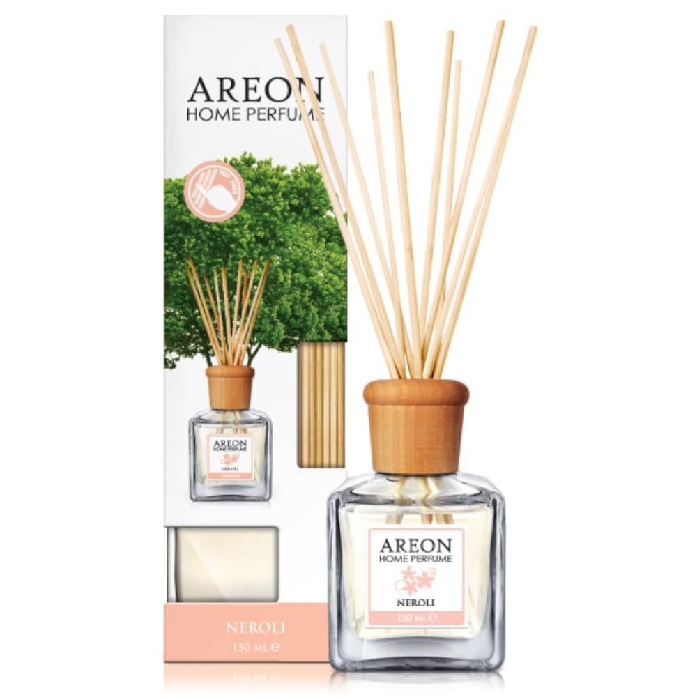 Odorizant cu betisoare Areon Home Perfume, Neroli, 150 ml imagine MatHaus.ro