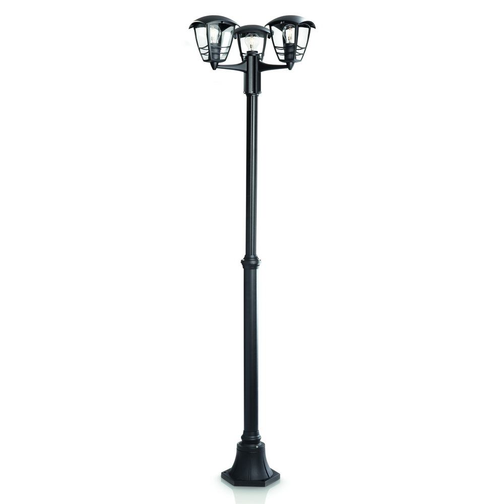 Stalp de iluminat ornamental Philips, exterior, MyGarden - CREEK, 3xE27, IP44, max 60W mathaus 2021