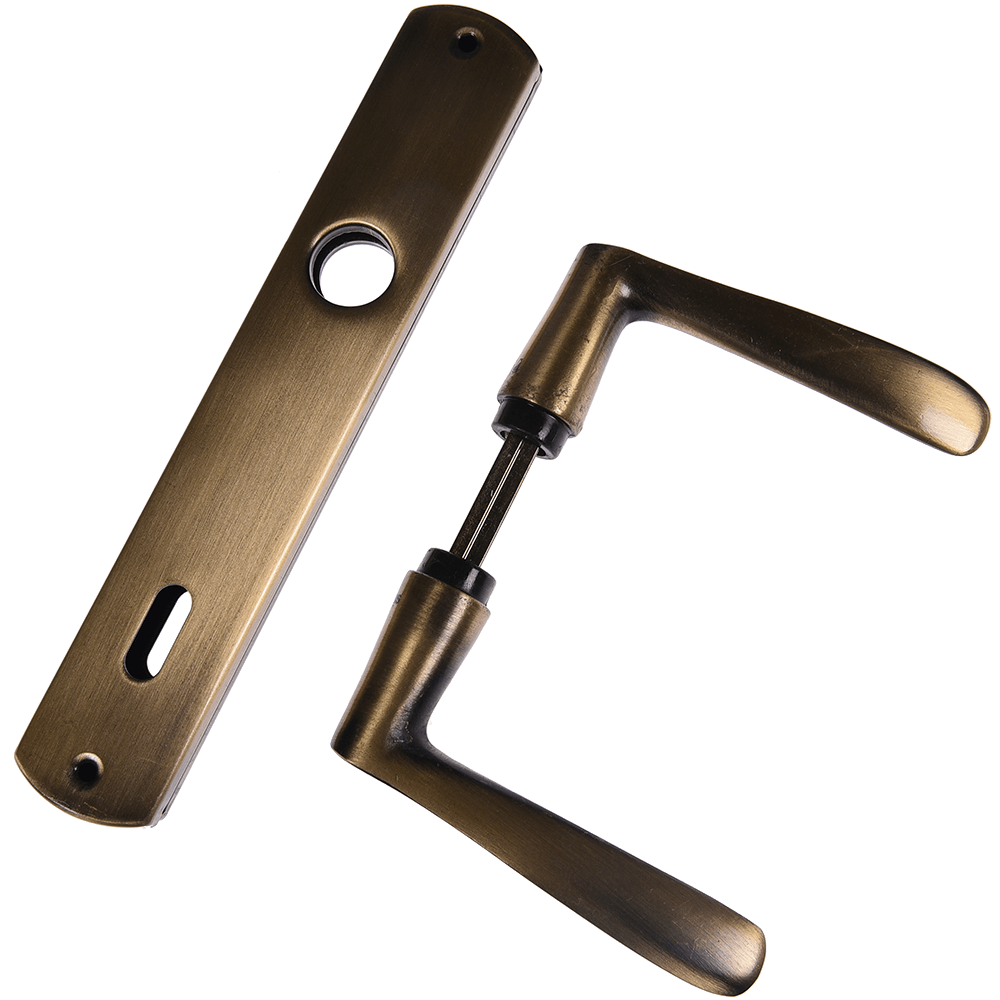 Maner cu silduri, pentru cheie, auriu, 90 mm