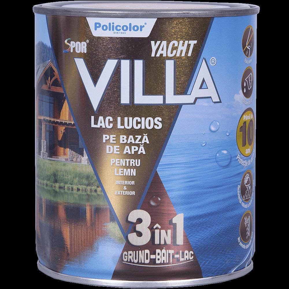 Lac Spor Villa Yacht lucios 3 in 1 cires 0,75 L
