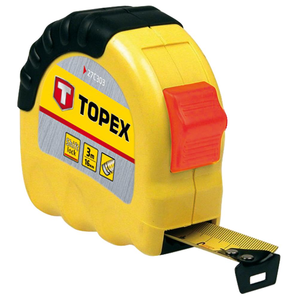 Ruleta uz casnic Topex, 8 m x 25 mm imagine 2021 mathaus