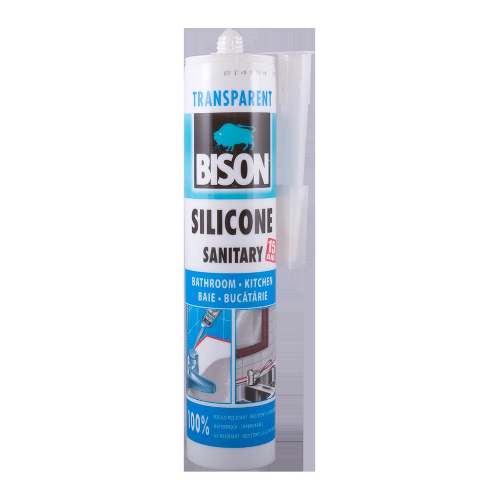 Silicon Sanitar Bison transparent 280 ml mathaus 2021