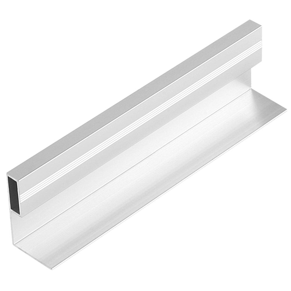Profil pentru maner din aluminiu Tip L1, 3 m imagine MatHaus.ro