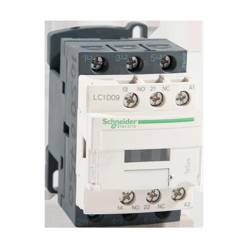 Contactor TeSys D, Schneider LC1D09P5, 3P 9A, AC-440V - aux 1NO+1NC - 230V imagine MatHaus.ro