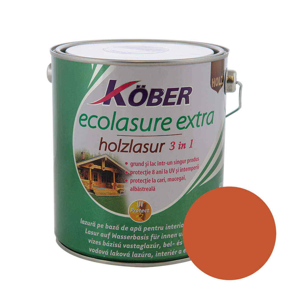 Email Kober Ecolasure Extra 3 in 1, mahon, 2,5 l