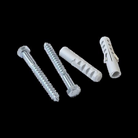 Diblu PP, D: 12 mm, cu surub 8 x 80 mm, 4 BUC