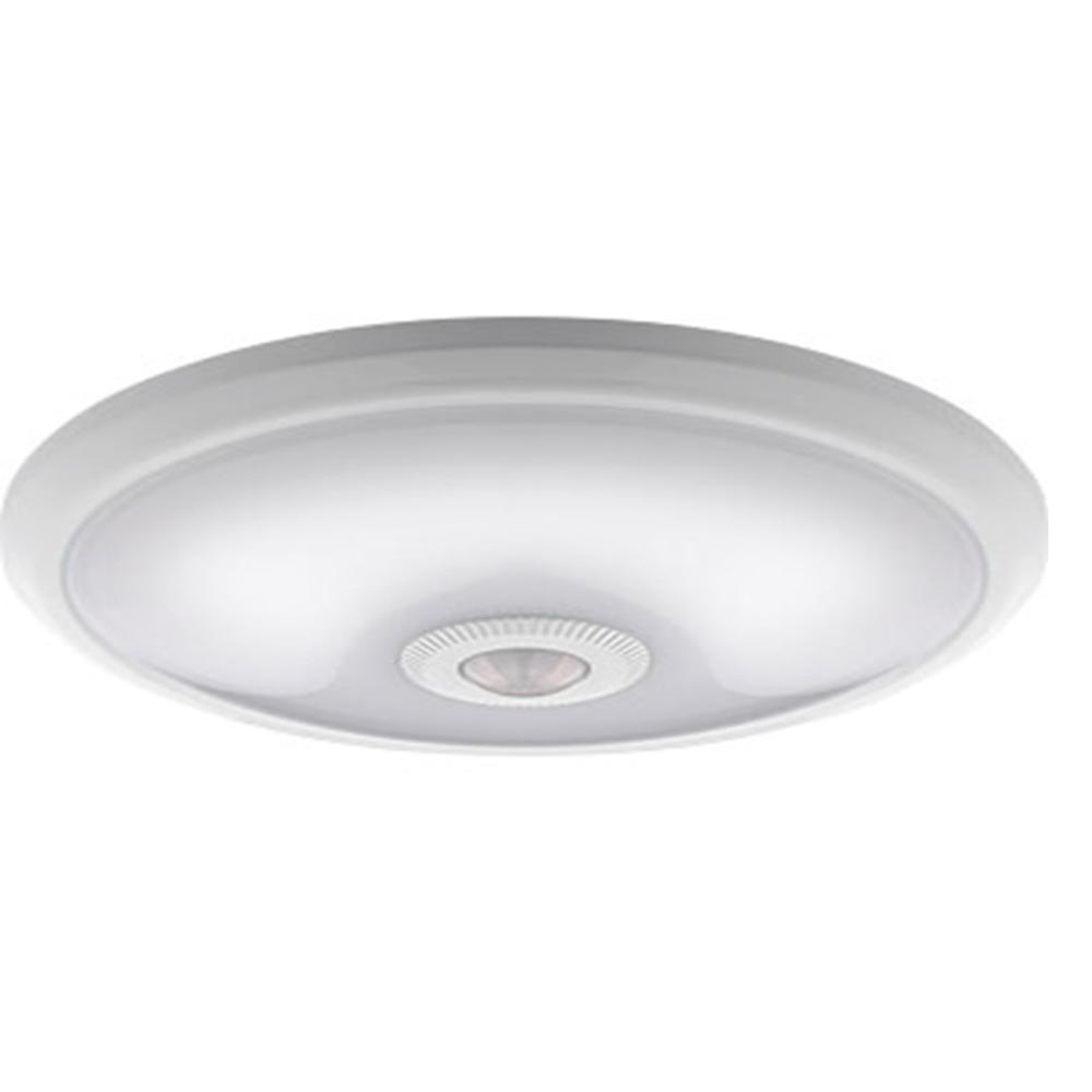 Plafoniera Led Gelux Eco, cu senzor, 12W - 960, lumina rece imagine MatHaus.ro