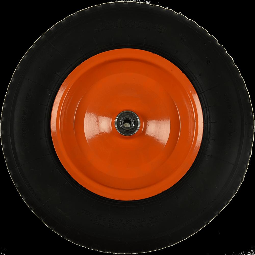 Roata pneumatica, axa L:80 mm, D: 380 mm, int D: 10 mm mathaus 2021