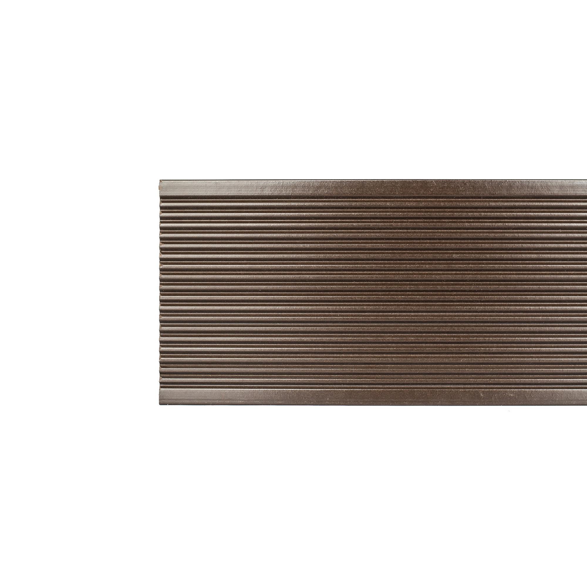 Profil gard WPC, wenge, 24 x 120 x 2000 mm imagine MatHaus